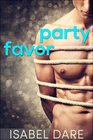 Party Favor gay romance book cover by Isabel Dare