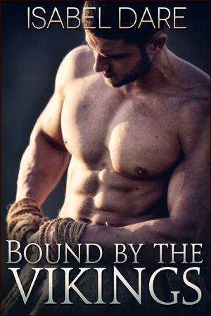 Bound by the Vikings bookcover by Isabel Dare