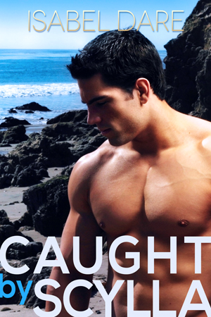 Caught by Scylla book cover by Isabel Dare