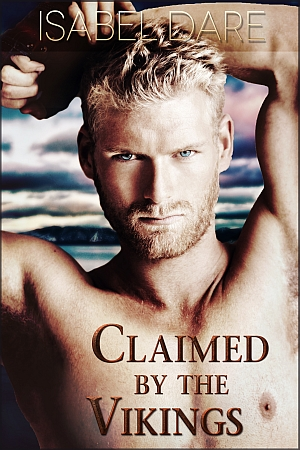 Claimed by the Vikings book cover by Isabel Dare