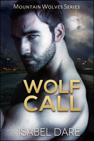 Wolf Call book cover by Isabel Dare
